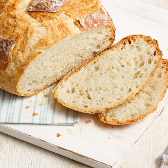 Miche de pain en cocotte végane