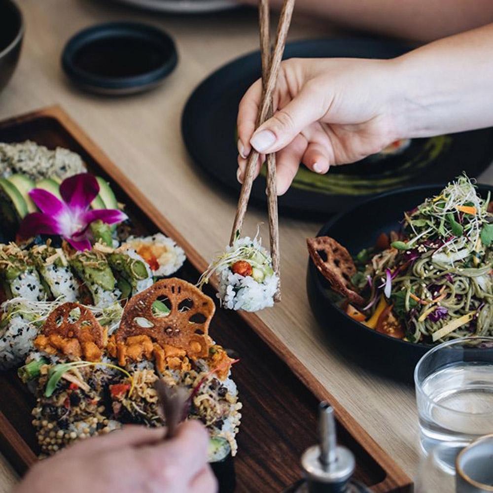 Les meilleurs sushis véganes en ville