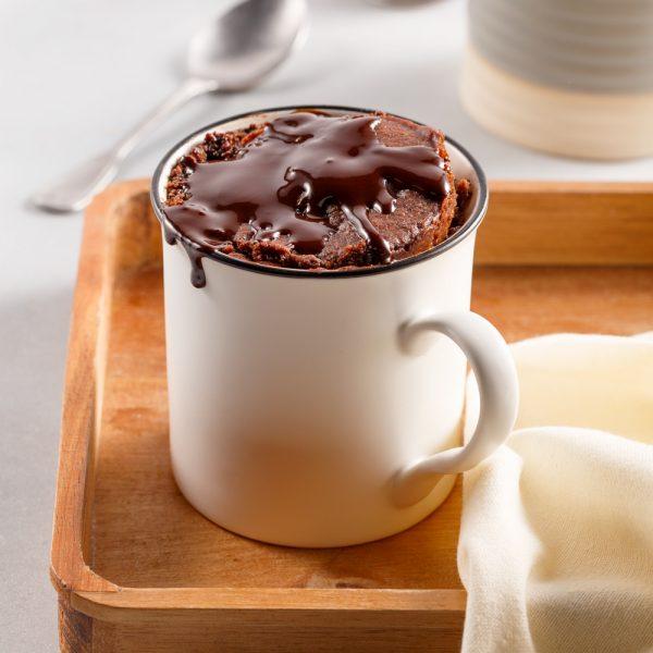 Mug cake au chocolat végane