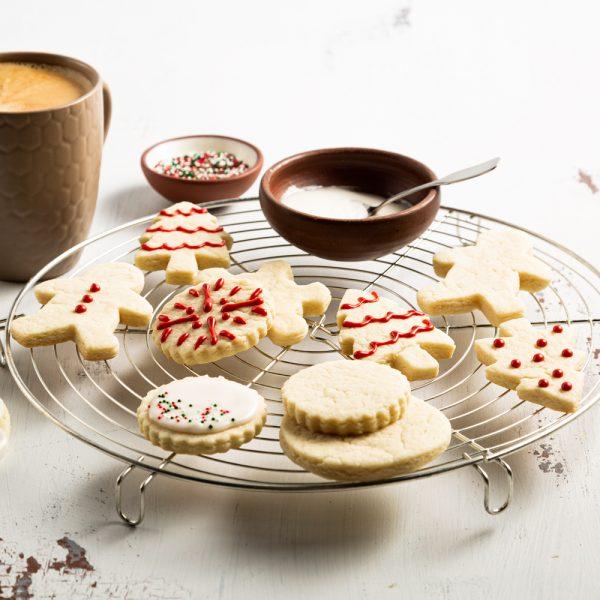 Biscuits de Noël véganes