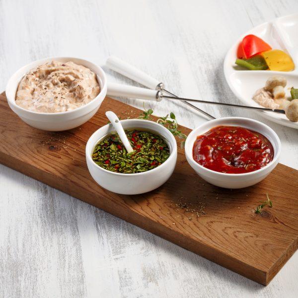 Sauces à fondue chinoise véganes
