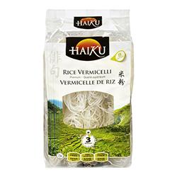 vermicelles de riz (de type Haiku)