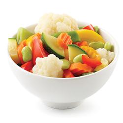 Mélange de légumes surgelés de type italien