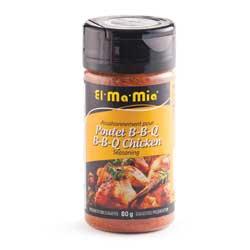 Assaisonnements pour poulet BBQ El-Ma-Mia