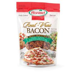 Bacon en miettes