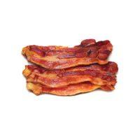 Tranches de bacon fumé à l'érable