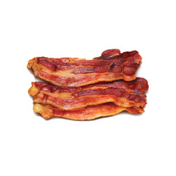 Tranches de bacon fumé à l'érable