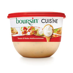 Boursin® Cuisine Tomates et herbe méditerranéen