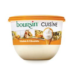 Boursin® Cuisine Echalote & Ciboulette