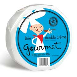Brie double crème Gourmet
