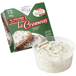 fromage ail et fines herbes (de type Le Crémeux)