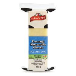 Mozzarella sans lactose 20% M.G. de Fromagerie L'Ancêtre