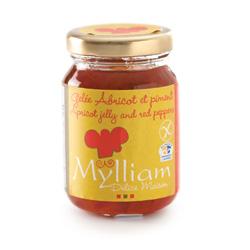 Gelée d'abricot et piment Myllian Délice Maison et Cie