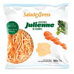 Julienne de légumes Saladexpress