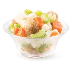 Mélange de légumes surgelés pour macaroni chinois