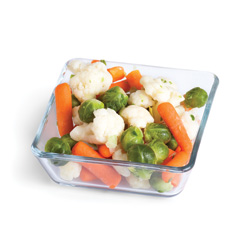 Mélange de légumes surgelés de type bruxellois