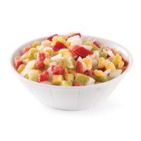 Mélange de légumes surgelés de type chili