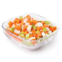 Mélange de légumes frais pour sauce à spaghettis