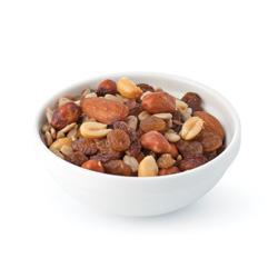 Mélange de fruits séchés et noix
