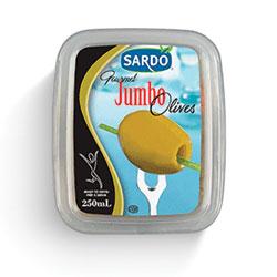 Olives vertes jumbo Sardo