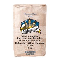 farine blanche de khorasan non blanchie biologique Milanaise