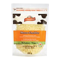 Mélange de fromages râpés Mozza-Cheddar Fromagerie L'Ancêtre