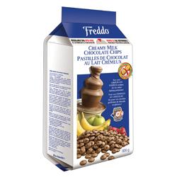 pastilles de chocolat au lait Freddo