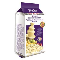 pastilles de chocolat blanc Freddo