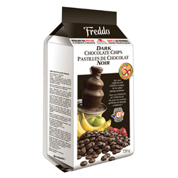 pastilles de chocolat noir Freddo