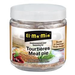 Assaisonnement pour tourtières El-Ma-Mia