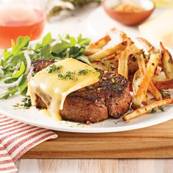 Cheese and Spices Filet Mignon