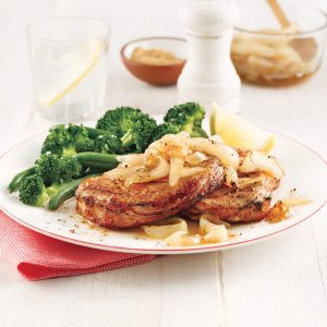 Pork Chops with Caramelized Onions