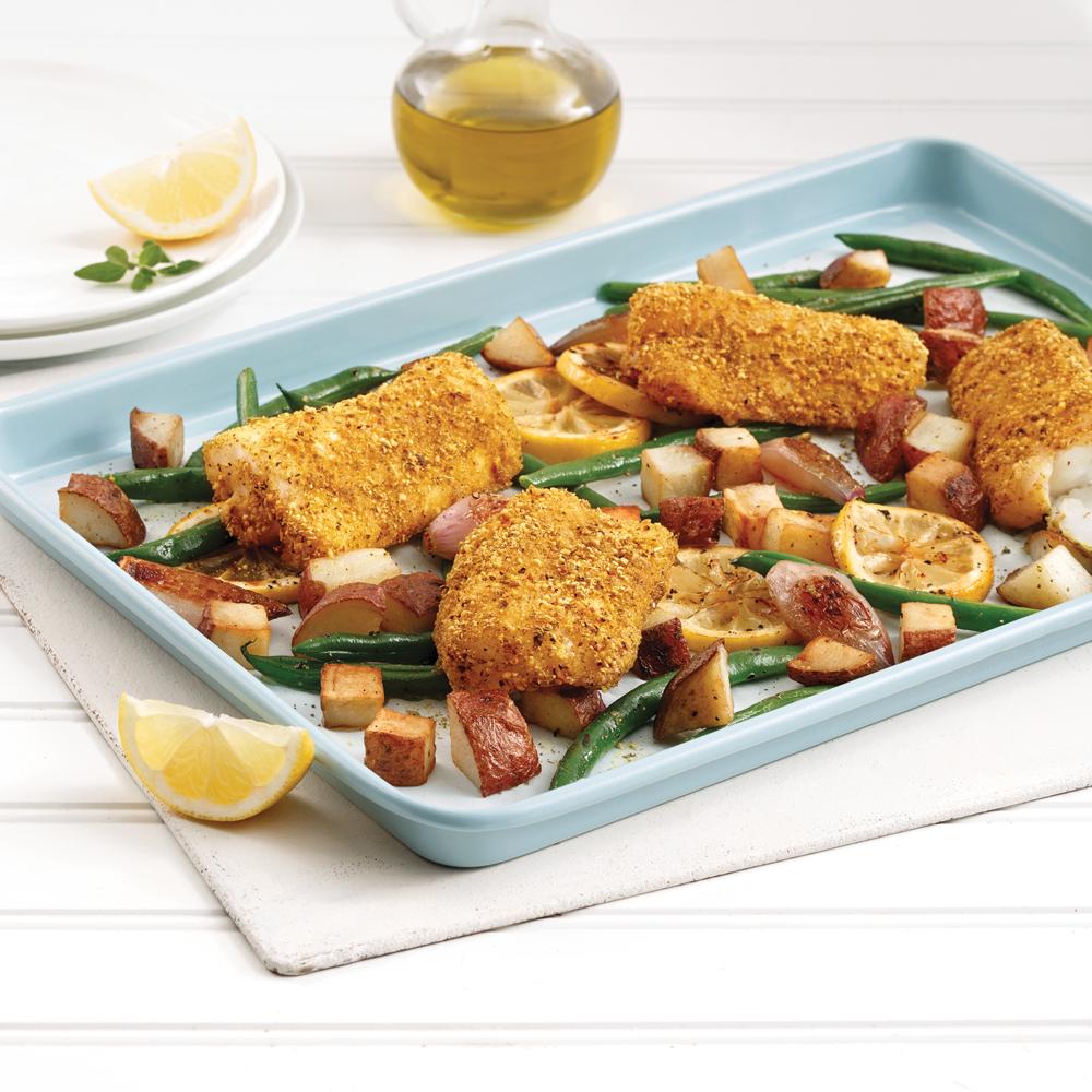 One Pan Crispy Fish