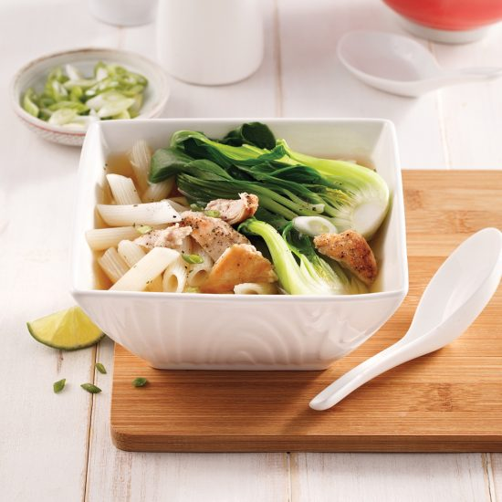 Chinese Chicken Bok Choy Soup