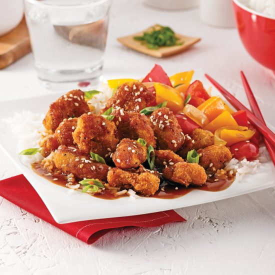 Crispy General Tso Chicken
