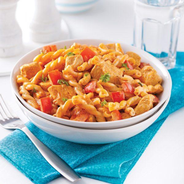 Cajun Chicken Pasta Casserole
