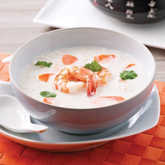 Shrimp and Coconut Milk Soup