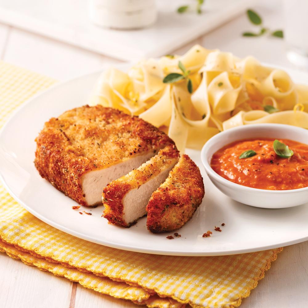 Lemon Oregano Pork Chops
