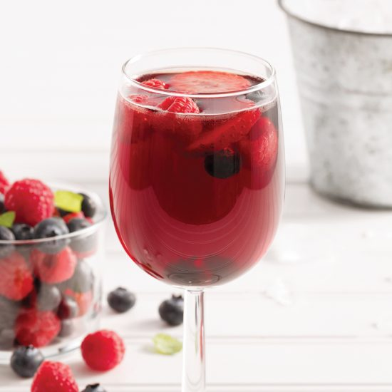 Berry and Iced Tea Sangria