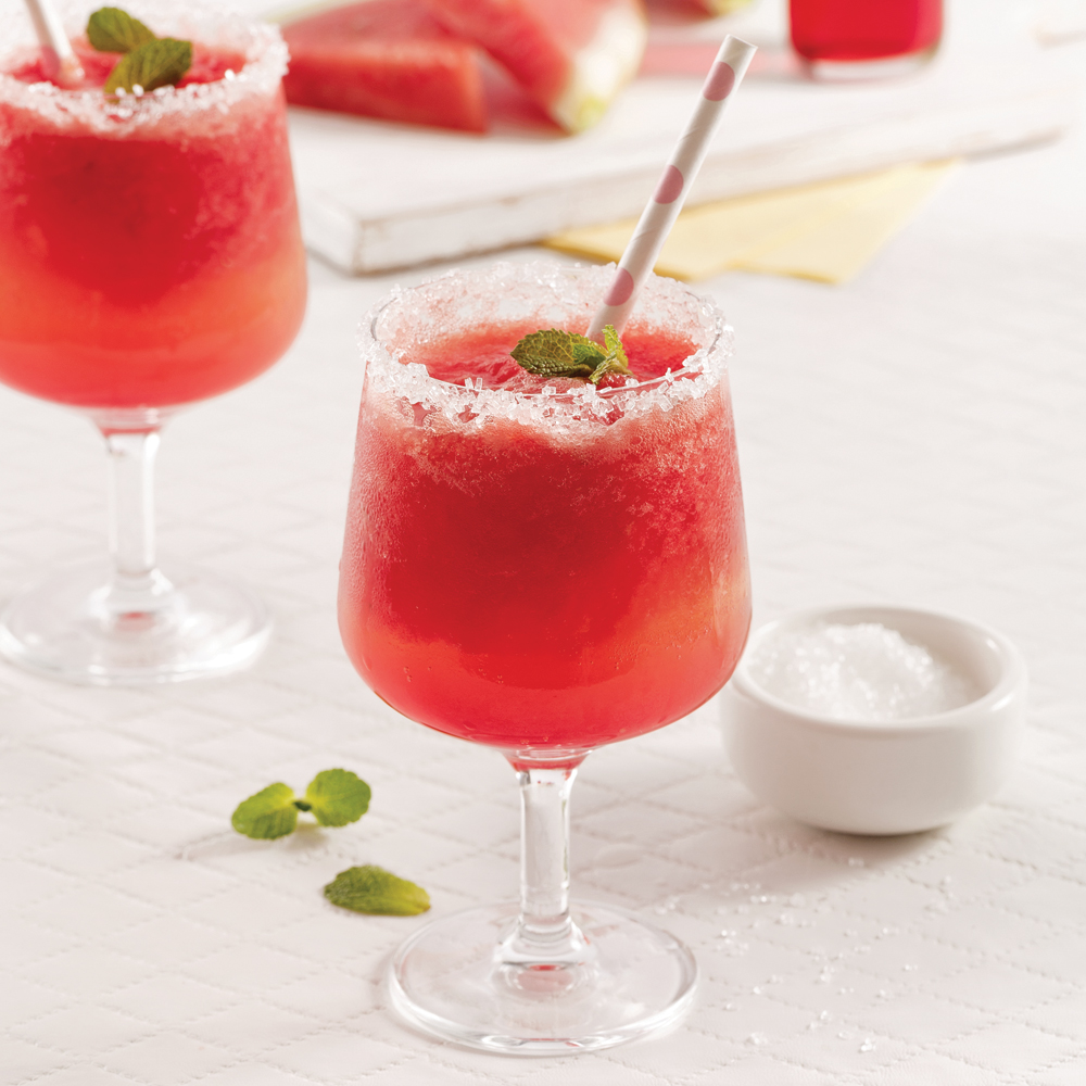 Watermelon Frosted Champagne