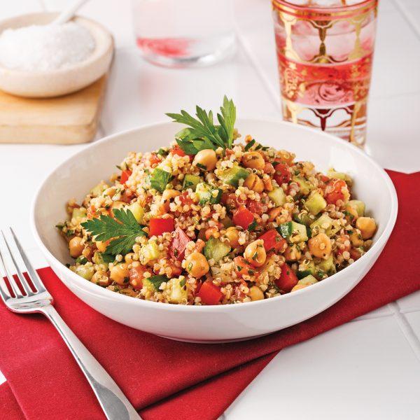 Quinoa and Chickpea Tabbouleh