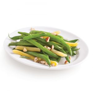 Green and Yellow Beans with Hazelnuts