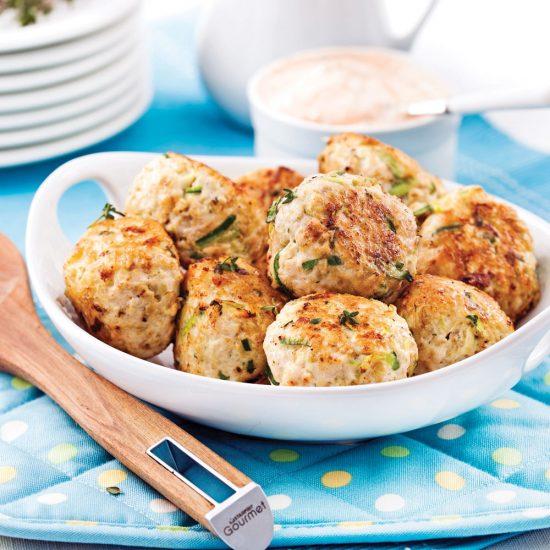Chicken Zucchini Balls