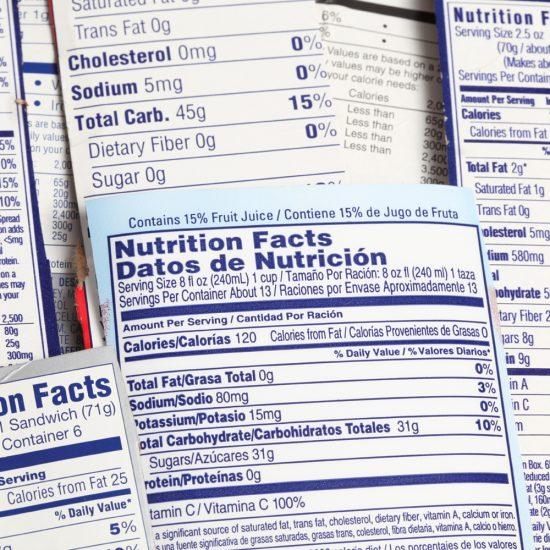 Savoir repérer un produit nutritif
