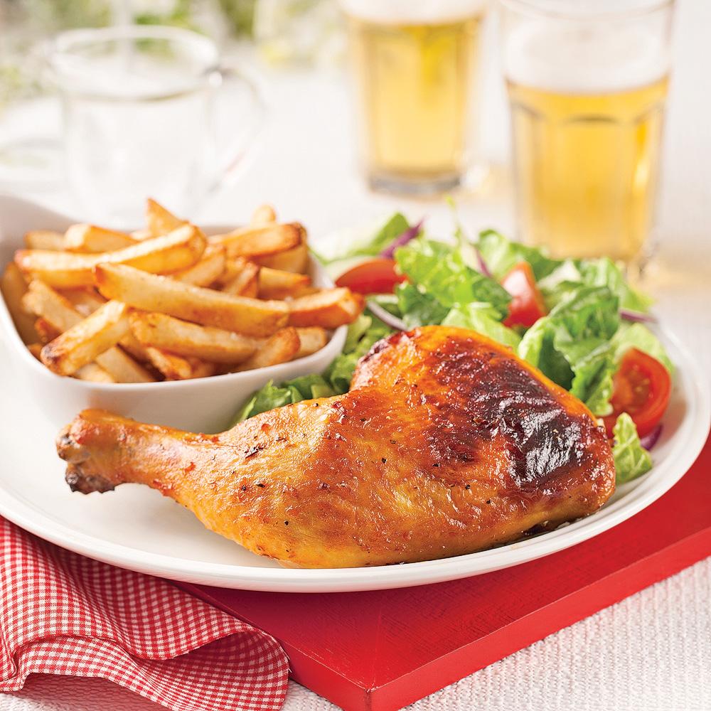 En étapes: le meilleur poulet sur canette de bière