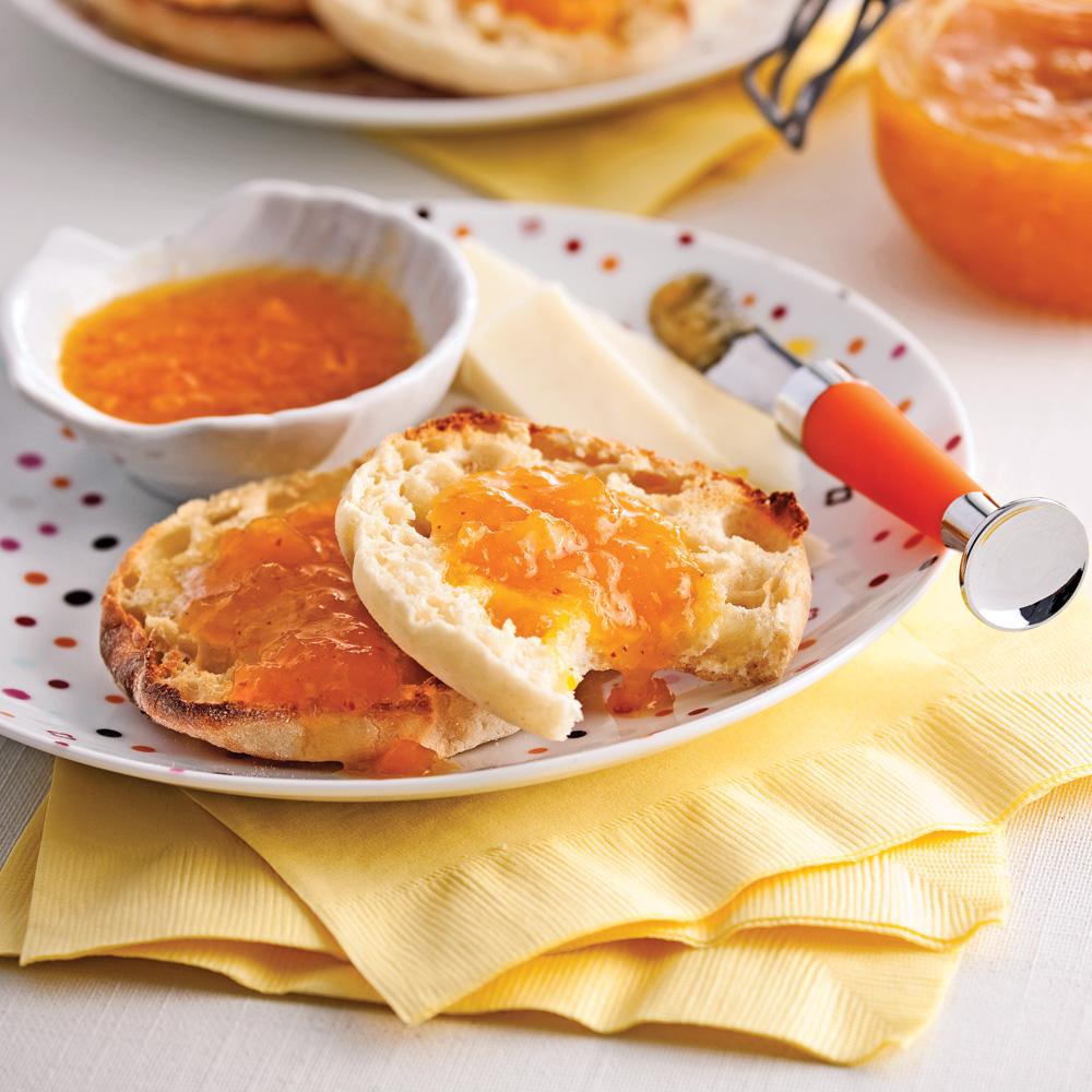 Confiture à la mangue et au gingembre