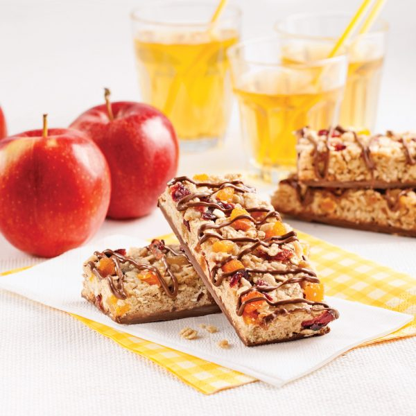 Barres granola au chocolat sans noix