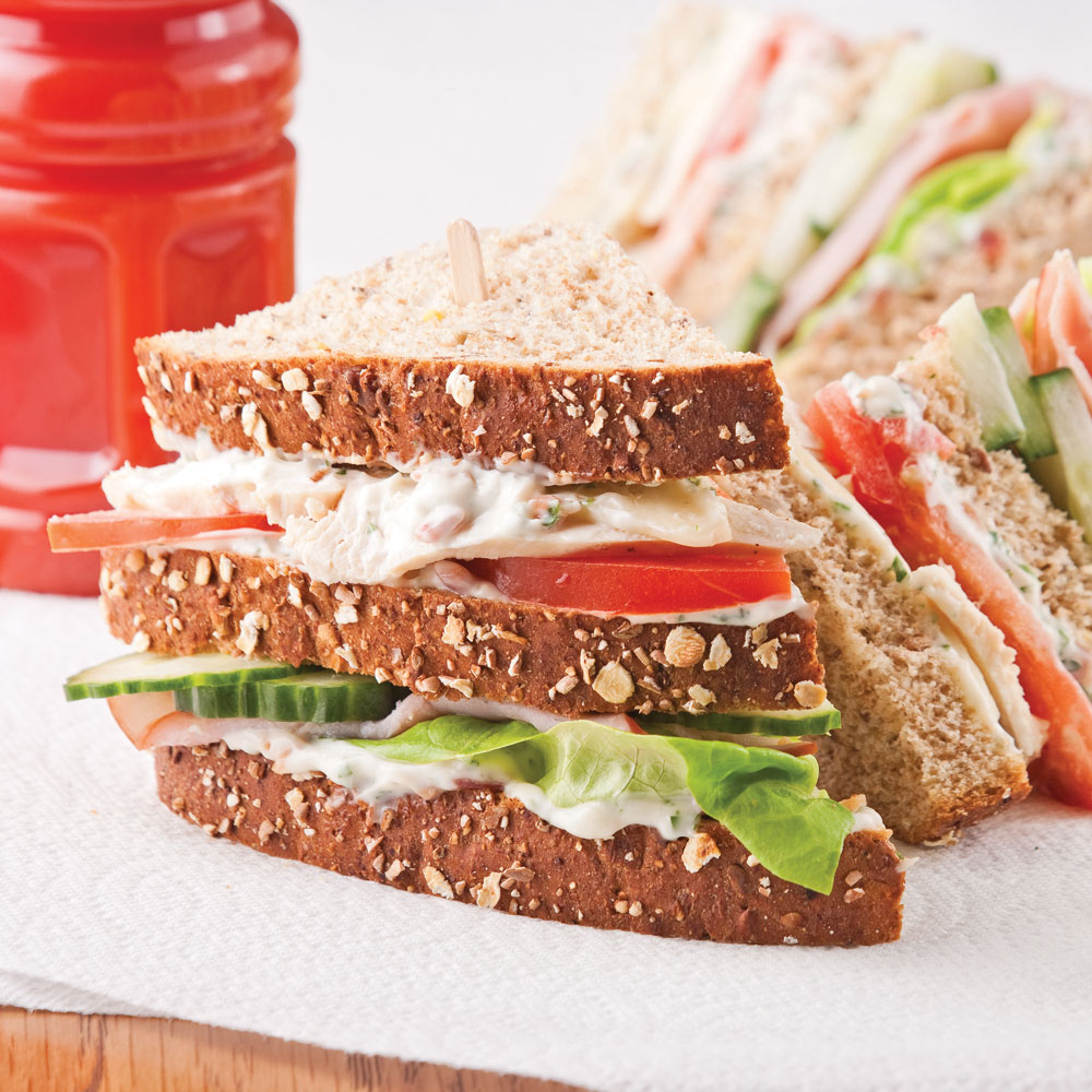 Club sandwich pour l'ado affamé