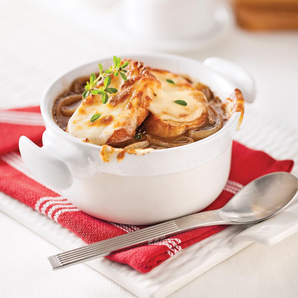 En étapes: La parfaite soupe à l'oignon
