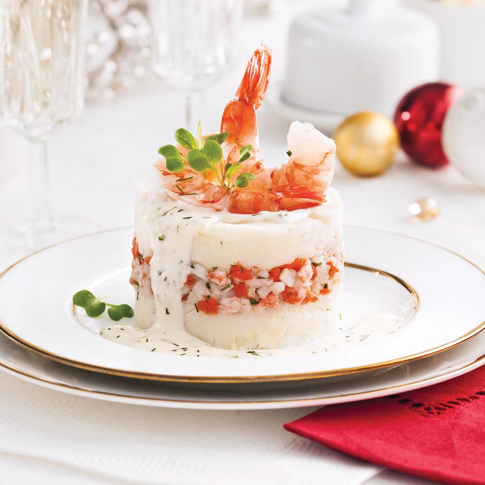 Crevettes et pétoncles Saint-Jacques